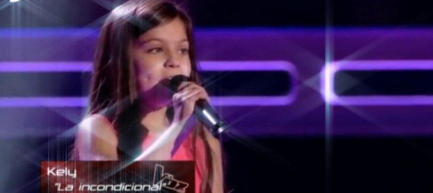 Kelly en La Voz Kids