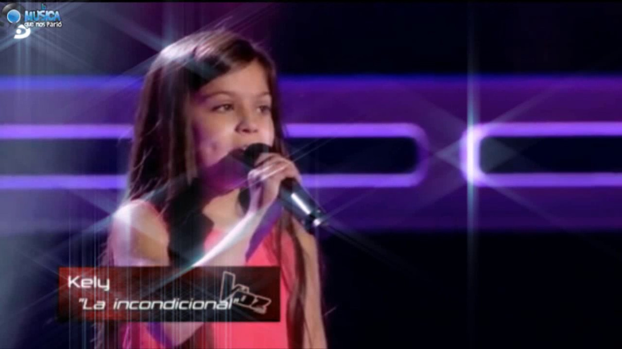 Kelly en La Voz Kids